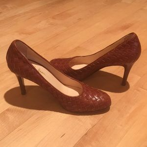 Cole Haan Collection Woven Leather Heels🌹